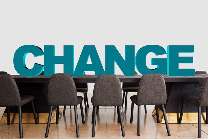 Board room change
