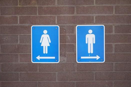 Public rest rooms bathroom