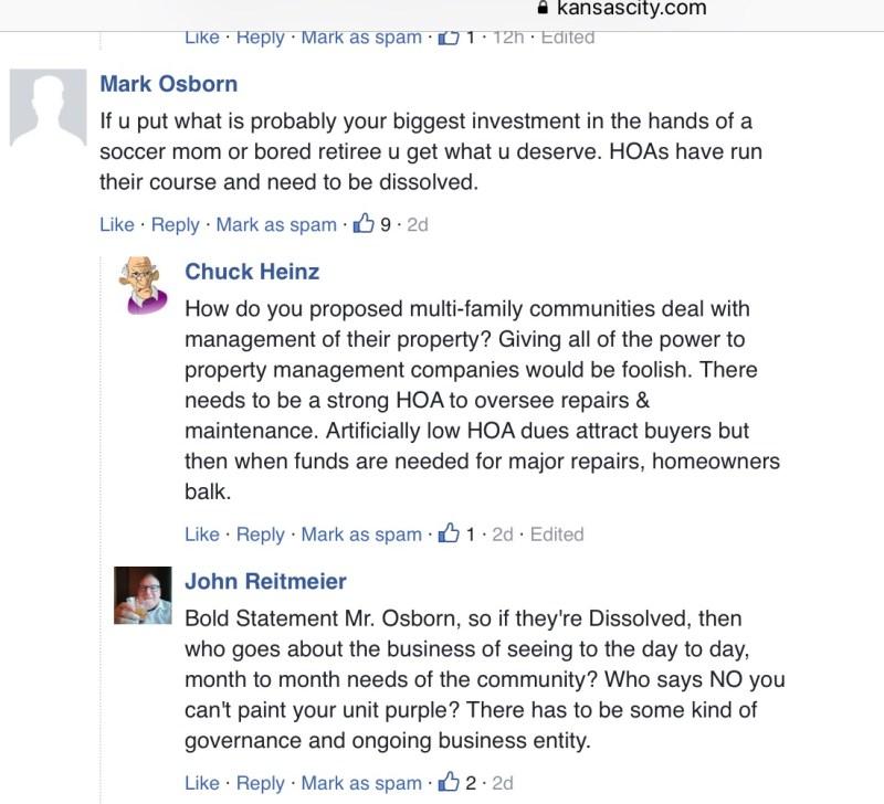 Kansas City Star reader comments 2