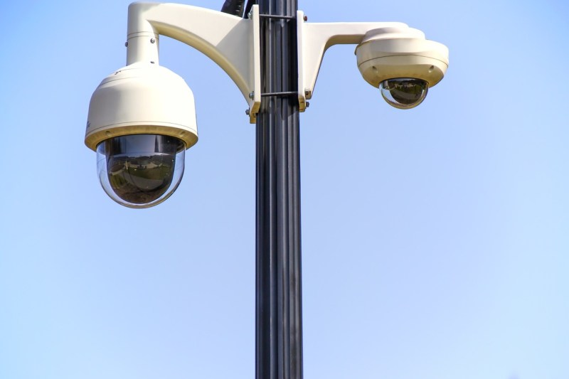 Security camera surveillance