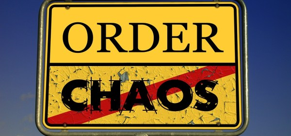 community-chaos-order sign