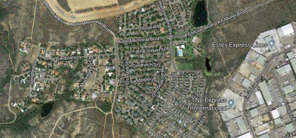 La Bota Ranch Laredo TX map