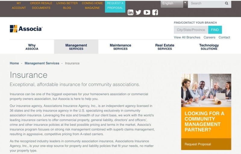 Associa online AIA insurance pg 1
