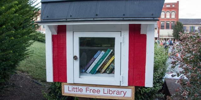 Little Free Library compressed