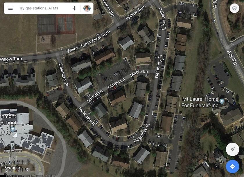 Delancey Place NJ Google Maps