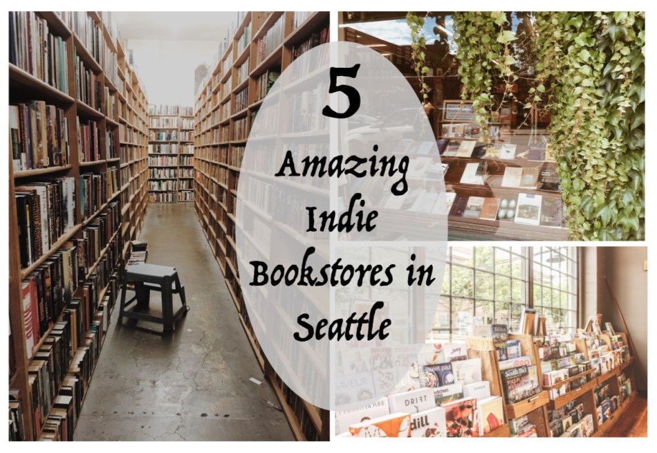 "This is the featured photo for Independent Book Review's article ""5 Amazing Indie Bookstores in Seattle."""