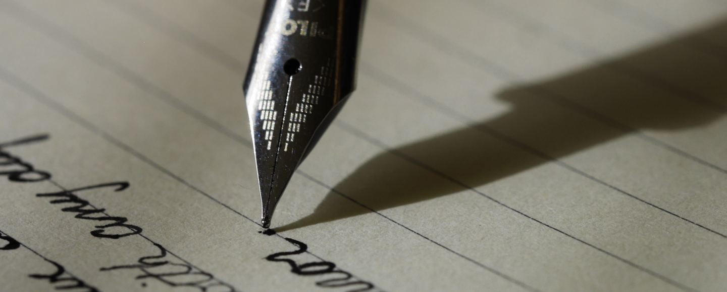 This is a picture of a fountain pen. It is the featured image for Independent Book Review's call for writers to join their team.