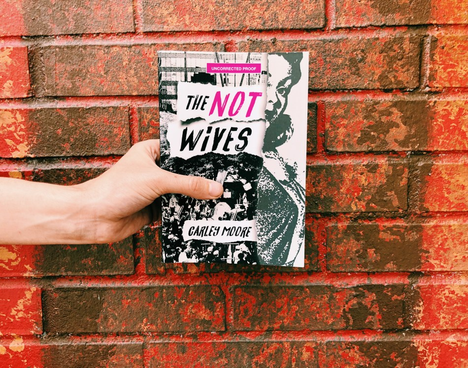 This is the paperback photo (by Independent Book Review) of The Not Wives by Carley Moore and Feminist Press.