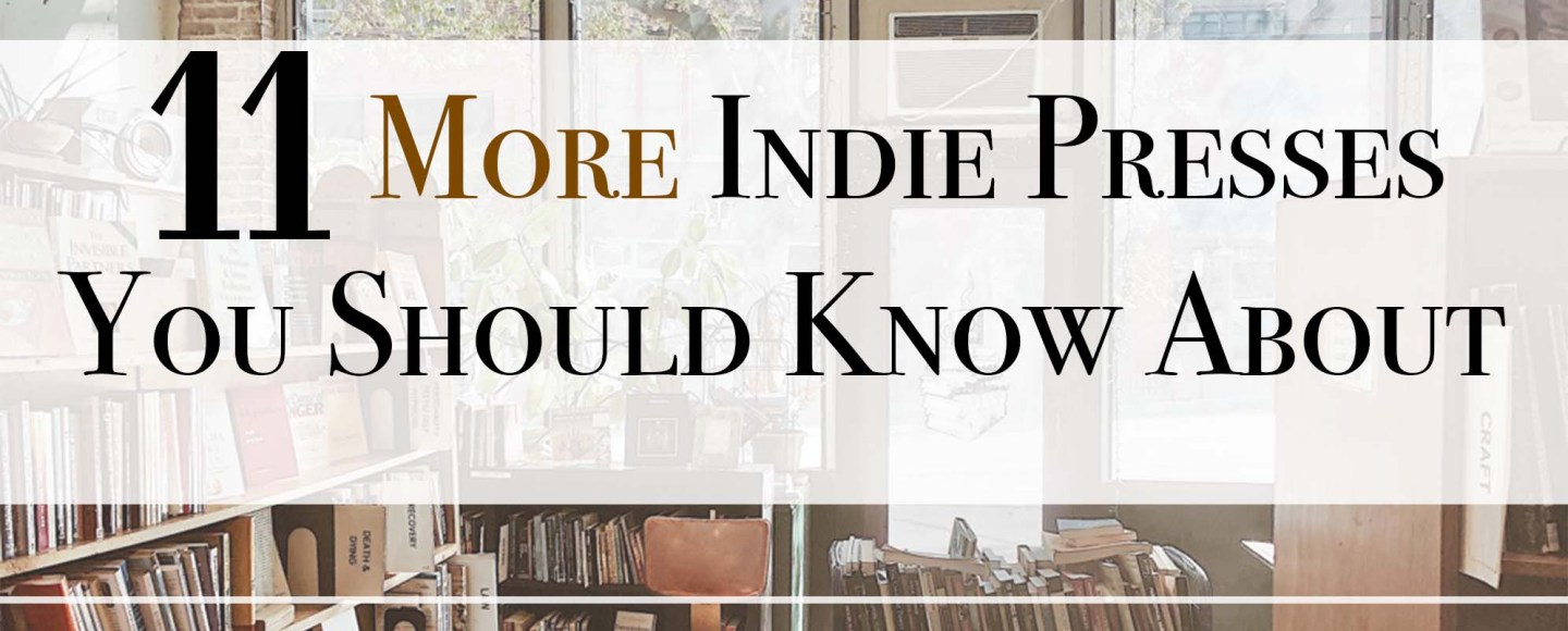 """This IBR original photo is for """"11 More Indie Presses You SHould Know About"""" and the picture was taken at Downtown Books & News"""