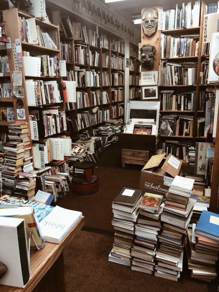 This is an original photo of Dawn Treader Book Shop in Ann Arbor, Michigan, from Independent Book Review