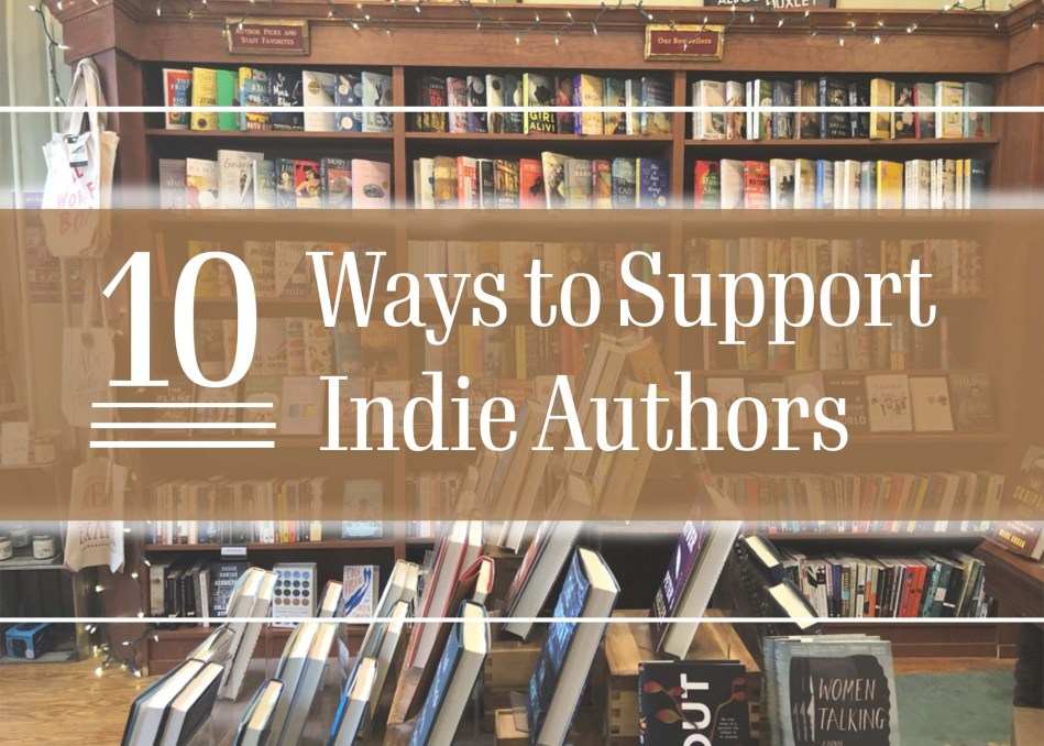"This is the original photo for Independent Book Review article ""10 Ways to Support Indie Authors."""