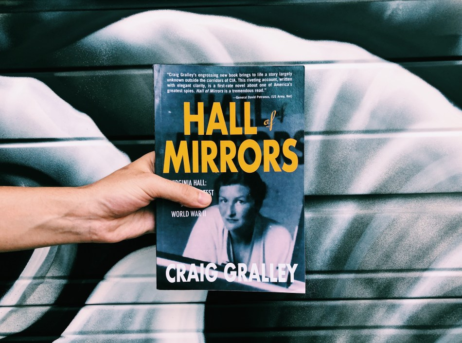 This is an original photo of the paperback copy of Hall of Mirrors by Craig Gralley, as reviewed by Independent Book Review