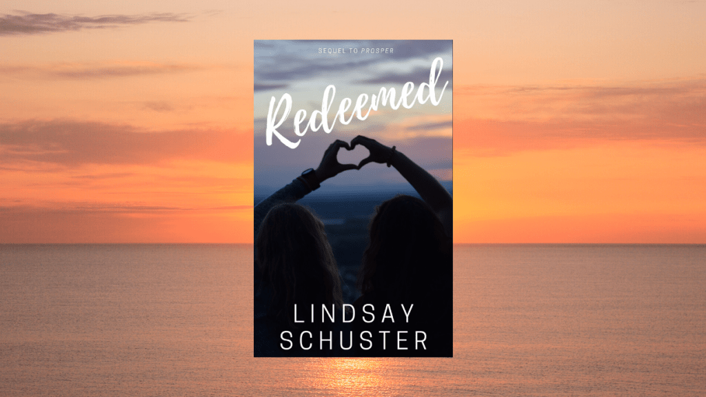 This is the featured image for our book review of Redeemed by Lindsay Schuster