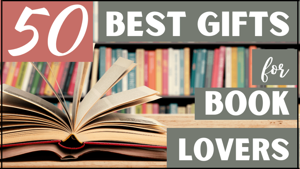 50 best gifts for book lovers