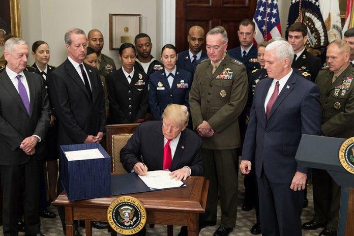 Trump Bill Signing