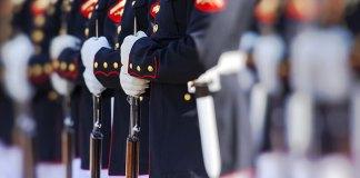 Marines On Parade