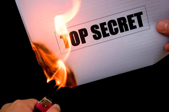 Burning Documents
