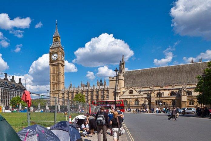 British Protest