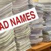 Bad Names