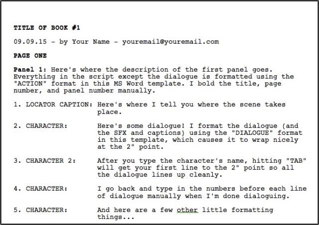 Up The Game: How To Write Powerful Comic Scripts – Independent ...