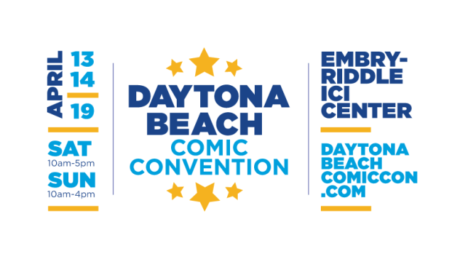 DAYTONA BEACH COMIC CON 2019 !!!