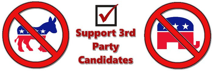 Image result for vote 3rd party