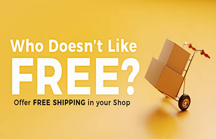 Free Shipping for a limited time at the IM SHOP