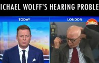 Michael Wolff's Temporary Hearing Problem