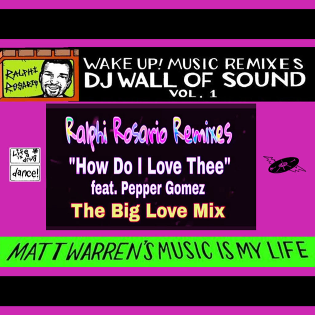 "Matt Warren - ""How Do I Love Thee (Ralphi Rosario Big Love Radio Mix)"