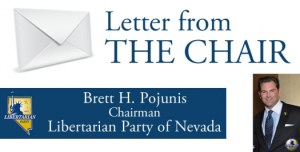 Letter from Nevada Chair