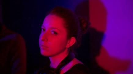 Co-director Leila Lamblin on the set