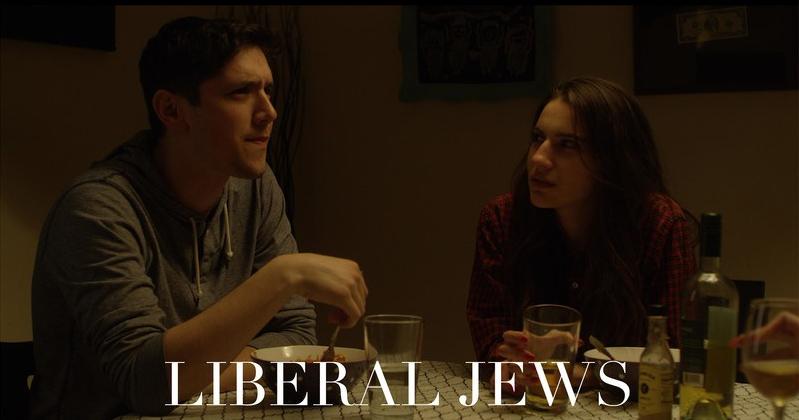 "Eric Haber and Tara Rose Schreiber in ""Liberal Jews"""