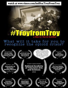 #TroyFromTroy: Friends vs. The Opioid Crisis