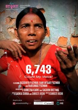 6,743 Count My Voice!