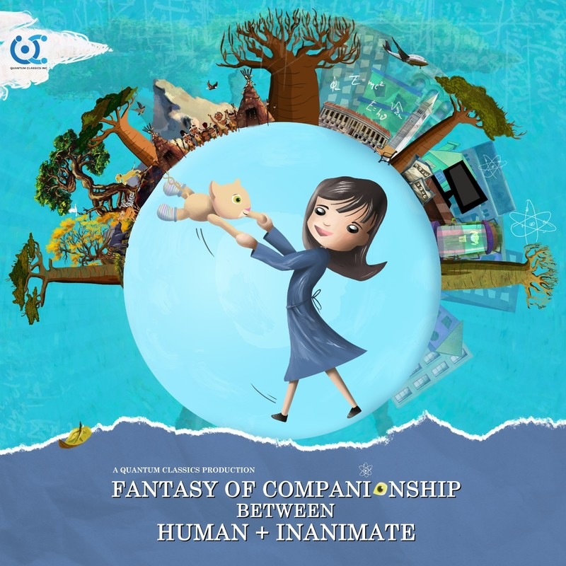 Fantasy of Companionship between Human and Inanimate (English) version