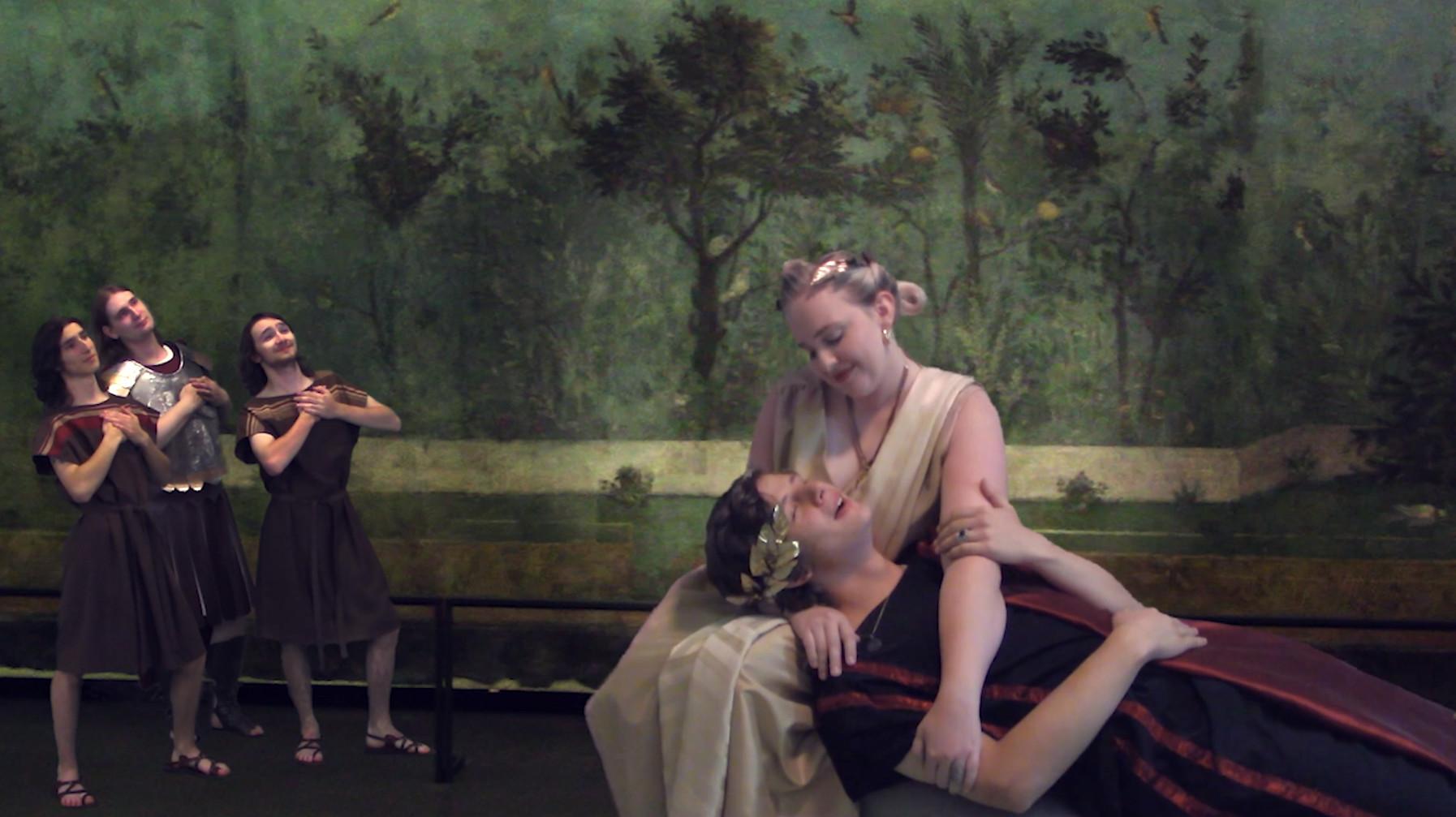 Livia, the Frescoed Lady