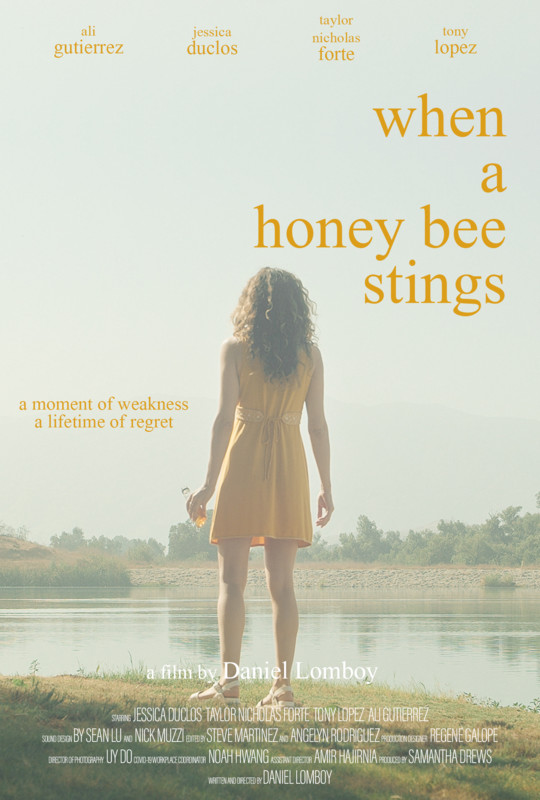 When a Honey Bee Stings