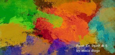 Paint On Paint # 5