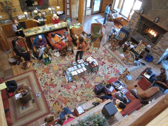 Retreat in the Lakedale great room