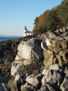 Lighthouse at Lime Kiln Point State Park, San Juan Island