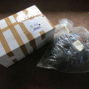 Incoming fiber shipment