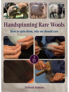 Handspinning Rare Wools cover