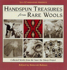 Handspun Treasures from Rare Wools cover