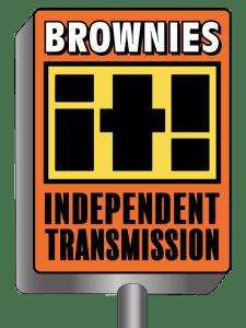 Brownies Independent Transmission Shop Logo