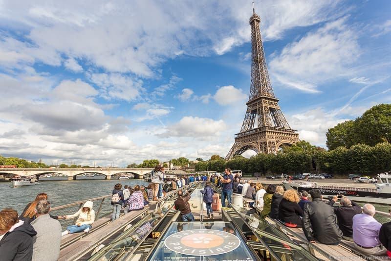 Paris Seine river boat cruises