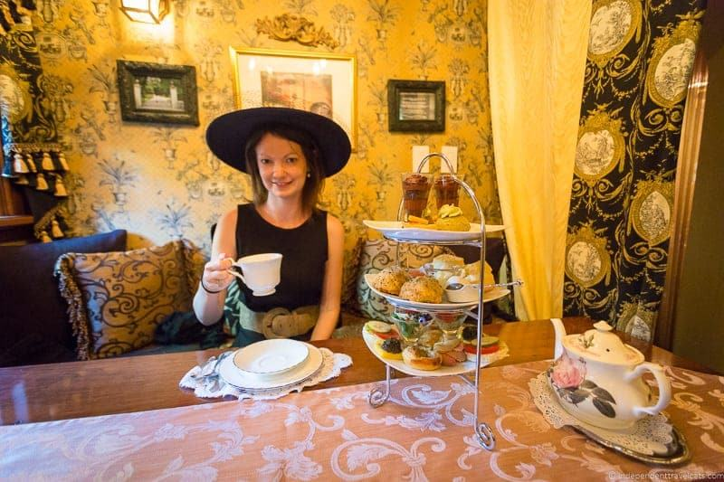 Afternoon Tea In Albuquerque New Mexico At St James Tearoom