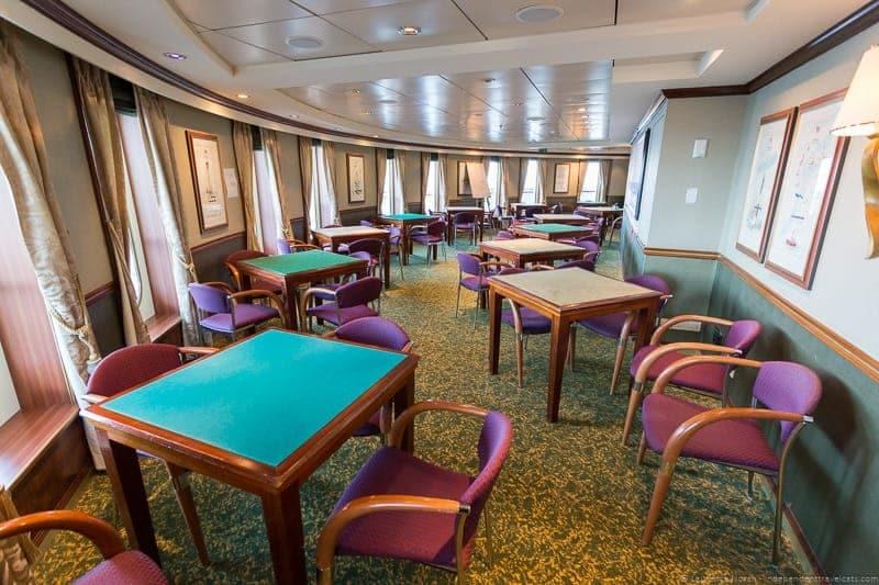 Atlantic Room Cunard Queen Mary 2 wedding at sea cruise