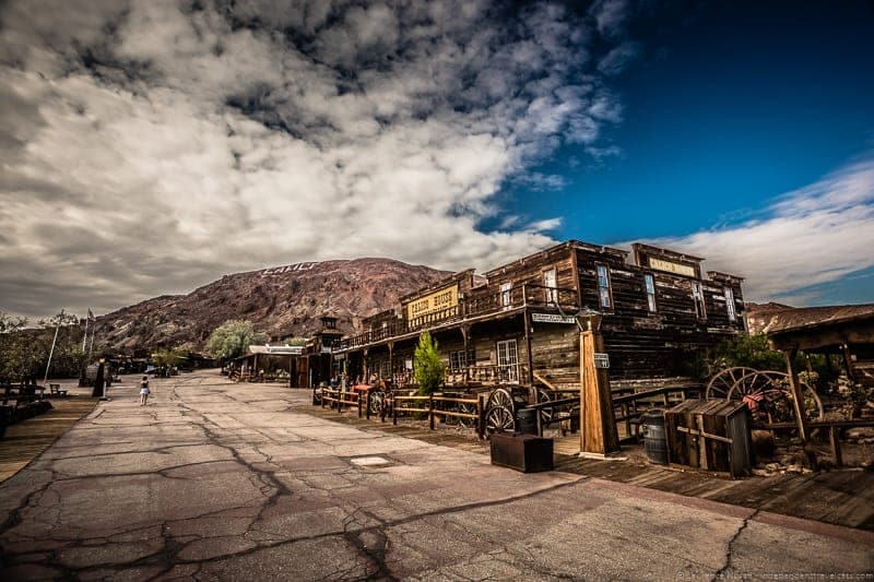 Calico ghost town California Route 66 road trip