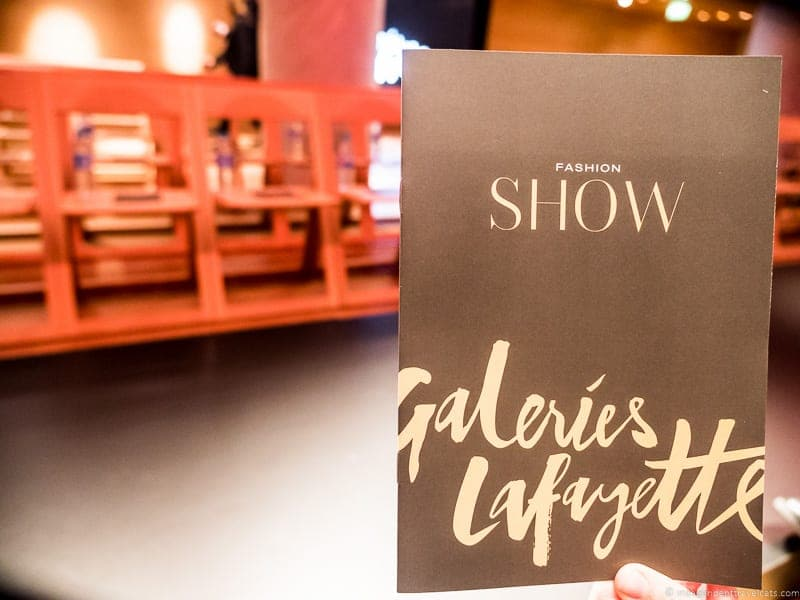 Galeries lafayette Free Fashion Show Paris 2