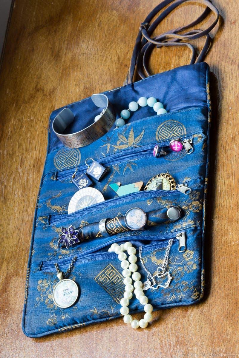 travel jewelry roll traveling inspried jewellery